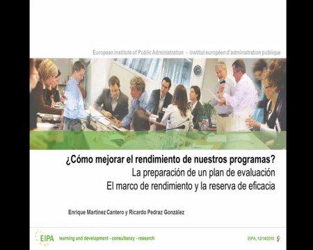 Marco de rendemento e reserva de eficacia: o próximo exame da Comisión  - Xornada sobre elixibilidade, simplificación e avaliación dos fondos estruturais e de investimento europeos 2014-2020